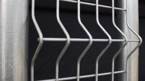 V Pressed Fence