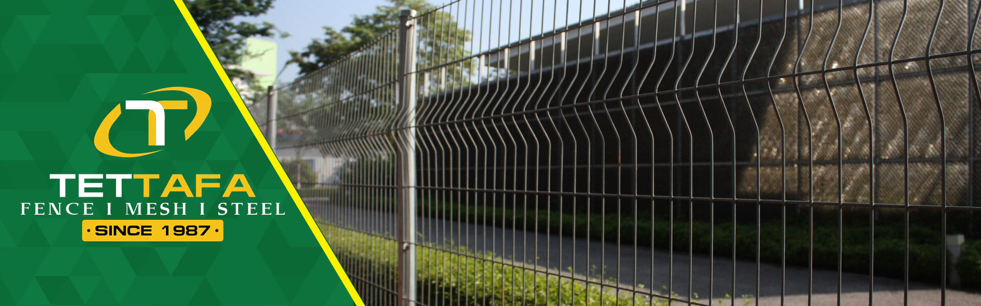 Security Fence Banner
