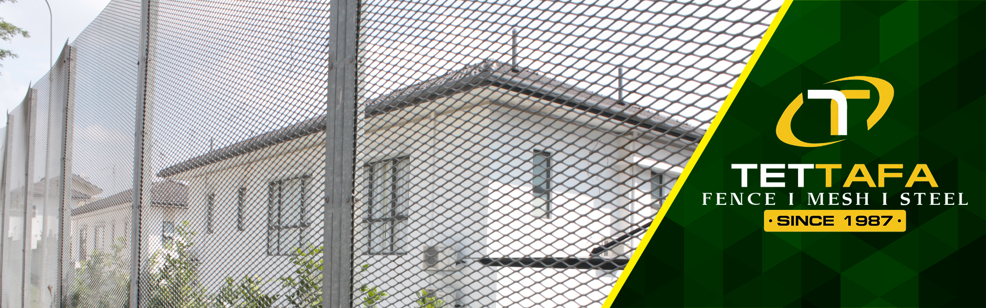 Expanded Metal Fencing Manufacturer in Malaysia | TET Tafa